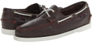 Dark Brown/White Sebago Docksides for Men (Size 12)