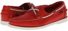 Bright Red Sebago Docksides for Men (Size 7)