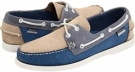 Light Blue/Blue/Beige Sebago Spinnaker for Men (Size 8.5)