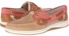 Linen Leather/Washed Red Open Sperry Top-Sider Bluefish 2-Eye for Women (Size 5.5)