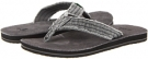 Charcoal Sanuk Fraid Not for Men (Size 9)
