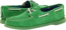 A/O 2 Eye (Green Suede Women's 5