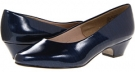 Navy Lizard Patent Soft Style Angel II for Women (Size 4)