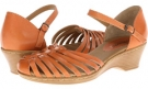 Orange M-Vege Softspots Tatianna for Women (Size 7)