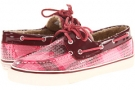 Bahama 2-Eye (Rose Plaid Sequins/Cordovan Women's 11