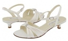 Ivory Satin Coloriffics Andie for Women (Size 5.5)