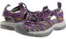 Sweet Grape/Neutral Grey Keen Whisper for Women (Size 5.5)