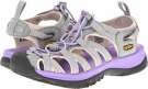 Neutral Gray/Bougainvillea Keen Whisper for Women (Size 5.5)