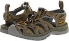 Burnt Olive/Neutral Gray Keen Whisper for Women (Size 9)