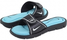 Dark Obsidian/White-Powder Blue Nike Comfort Slide for Women (Size 12)