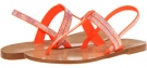 Orange Satin Pedro Garcia Zulimar for Women (Size 7)
