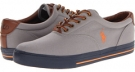 Muse Grey/Bri Sig Orange/Navy Polo Ralph Lauren Vaughn for Men (Size 15)
