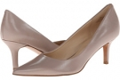 Med Taup Leather Nine West Austin for Women (Size 7)