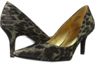 Gold Multi Fabric Nine West Austin for Women (Size 7)