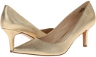 Gold Metallic Nine West Austin for Women (Size 7)