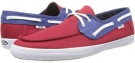 STV Navy/Chili Pepper Vans Chauffeur for Men (Size 9.5)