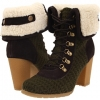 Cuff Lace Up Shortie Boot Women's 7