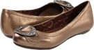 Bronze Dr. Scholl's Schroll for Women (Size 5)