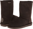 Chocolate II Bearpaw Emma Short for Women (Size 5)