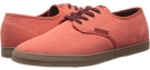 Orange/Gum Heathered Canvas Emerica The Wino for Men (Size 7)