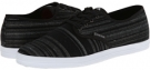 Black/Grey Yarn-Dyed Woven Emerica The Wino for Men (Size 7)