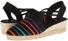 835 (Black Multi Segovia Women's 11