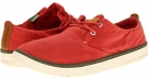Washed Red Canvas Timberland Earthkeepers Hookset Oxford for Men (Size 11.5)