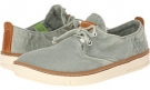 Light Green Washed Canvas Timberland Earthkeepers Hookset Oxford for Men (Size 11.5)