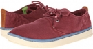 Burgundy Washed Canvas Timberland Earthkeepers Hookset Oxford for Men (Size 11.5)