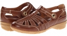 Honey Brown Ortega Leather Blondo Begonia for Women (Size 5.5)