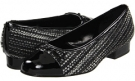 Black/Pewter Metallic Whips Vaneli Flissy for Women (Size 4.5)