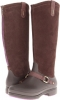 Equestrian Suede Tall Boot Women's 5