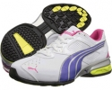White/Spectrum Blue/Beetroot Purple PUMA Tazon 5 NM for Women (Size 7)