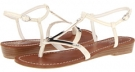 White Patent CARLOS by Carlos Santana Tulle for Women (Size 8.5)