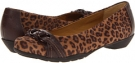 Mocha/Chocolate Mocha Leopard Suede Softspots Posie for Women (Size 5)