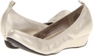 Champagne Metallic Leather Blondo Ersilia for Women (Size 5.5)