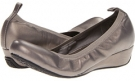 Pewter Metallic Leather Blondo Ersilia for Women (Size 5.5)