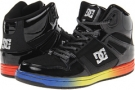 Black/Rainbow DC Rebound Hi LE W for Women (Size 7)