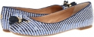 Bliss (Navy/White Stripe Women's 5.5