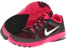 Black/Pink Force/Pure Platinum/Metallic Summit White Nike Air Max Fusion for Women (Size 5.5)