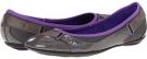 Steel Gray/Fluo Purple PUMA Bixley Patent Mesh Wn's for Women (Size 7)