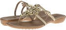 Gold Bosky Patent Vaneli Tabia for Women (Size 4.5)