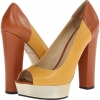 Maize/Cognac Calf Leather Rachel Zoe Lauren for Women (Size 5.5)