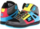 Black/Turquoise/Pink DC Rebound High LE W for Women (Size 7)