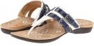 White/Cobalt VIONIC with Orthaheel Technology Dr. Weil with Orthaheel Technology Clarity Toe Post for Women (Size 7)