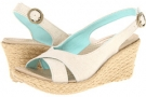 Crocs A-Leigh Linen Wedge Size 9
