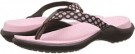 Crocs Capri Polka Dot Flip Flop Size 6