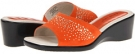 Orange David Tate Glitter for Women (Size 5)