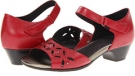 Red Leather Aravon Sofia for Women (Size 10)