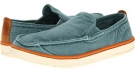 Washed Teal Canvas Timberland Earthkeepers Hookset Handcrafted Slip-On for Men (Size 9)